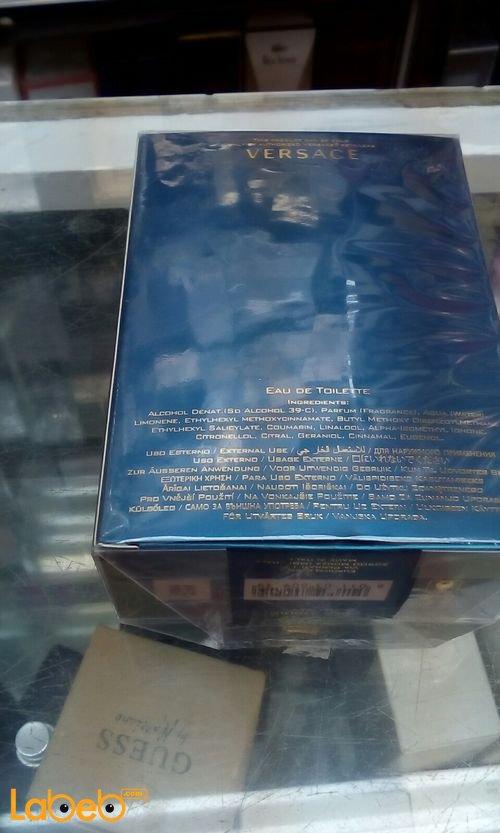 عطر Versace eros مناسب للرجال 50 مل أزرق