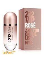 Vip Rose 212 Parfum for women 80ml Eau De Parfum Pink Color