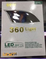360°Light Auto Head Light 80Watt H11 Size 7A-9006 model