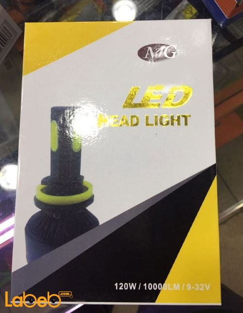 MG LED Head Light H11 Size 120Watt 1000LM