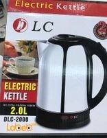 LC Electric Kettle 2 Liter 1800 Watt DLC-2000 Model