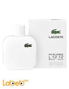 b04e5543e عطر Lacoste - مناسب للرجال - سعة 100مل - موديل L.12.12. White Lacoste