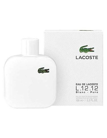 عطر Lacoste مناسب للرجال سعة 100مل موديل L.12.12. White Lacoste