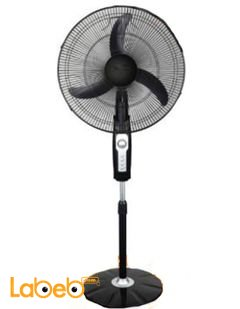 Samix stand fan - 18 inch - White color - FS45-008 model