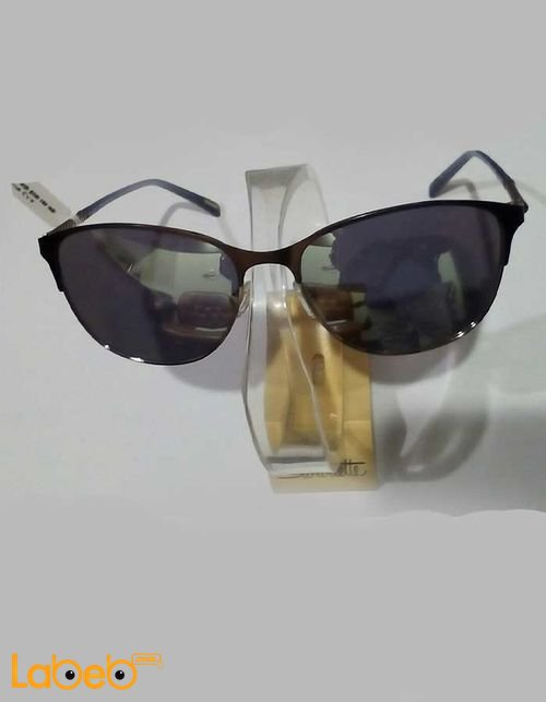 نظارات شمسية GANT إطار أسود عدسة سوداء موديل 6051