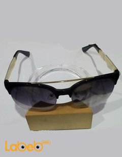 Vintage Sunglasses - Black Frame - Black Lenses - VIT-01 Model