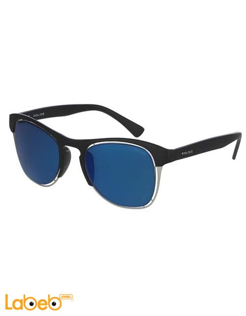 Police Sunglasses For men Black Frame Blue Lenses OFFSIDE Model