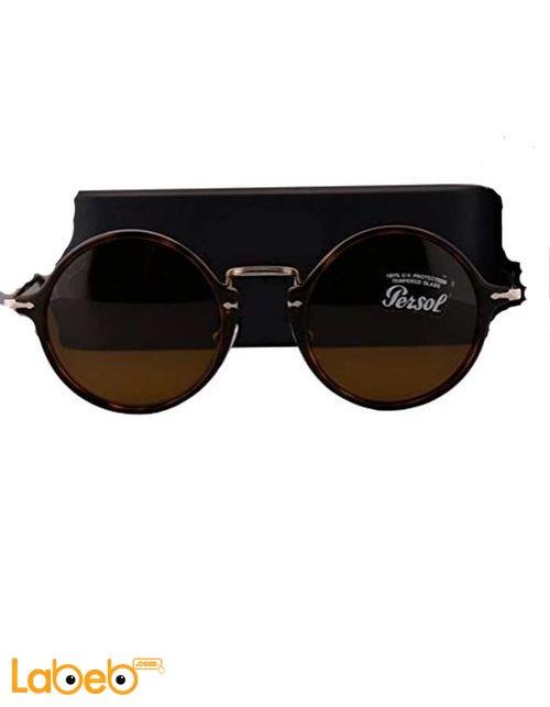 نظارات شمسية Persol إطار بني عدسة بنية موديل PO3091SM