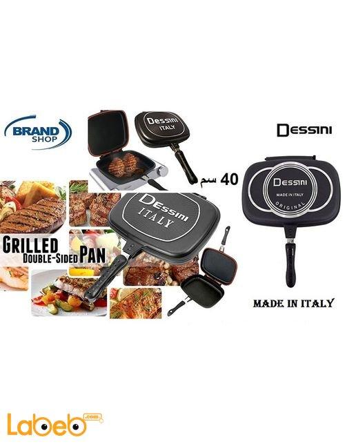 Dessini Kitchen Double Grill Pressure Pan 40 cm size