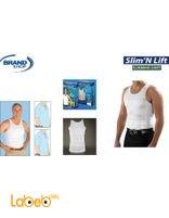 Slim n lift slimming shirt for mens White color