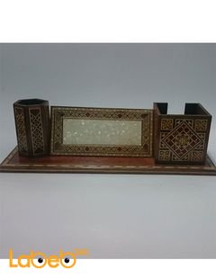 Desk sets - Wooden Mosaic Inlaid - Handmade product