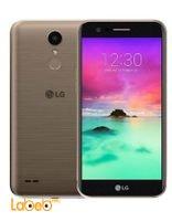 موبايل LG K10 2017 ذاكرة 16 جيجابايت 5.3 انش أسود وذهبي