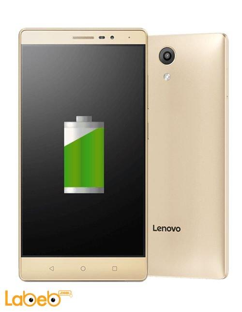 تابلت لينوفو Phab2 ذاكرة 32 جيجابايت شاشة 6.4 انش لون ذهبي