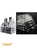 Acrylic Jewelry Organizer Drawer Makeup Display Holder Storage