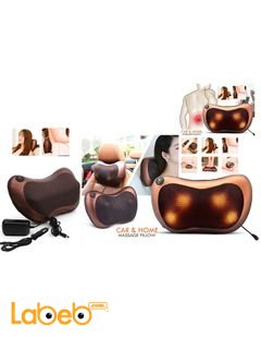 Massage Pillow - for Car and Home - 4 massager heads
