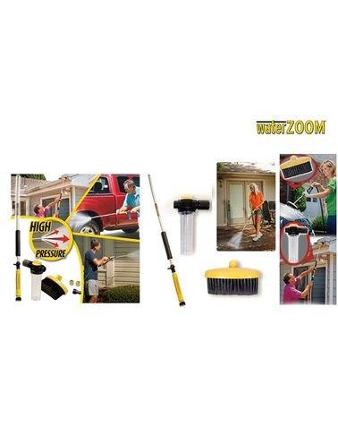 رشاش وبندقية تنظيف الاوساخ بالماء Water zoom - للسيارات والمنزل