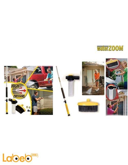 رشاش وبندقية تنظيف الاوساخ بالماء Water zoom للسيارات والمنزل