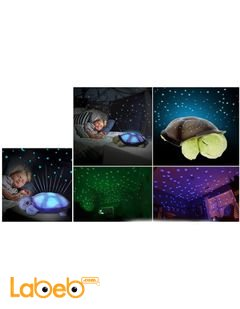 Turtle Night Sky with Lights and Music - 4 Colors - USB Port