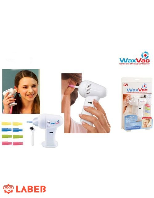 جهاز تنظيف الاذن وازالة الاوساخ WaxVac كهربائي لاسلكي