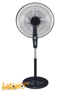 Home Electric Stand Fan - 18 inch - Black - HSF 1861