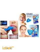 White Light Home Laser Teeth Whitening System takes 10 min