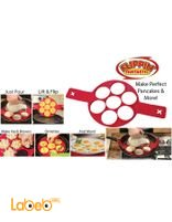 Flippin fantastic Silicone pancakes mold & more With 7 circles