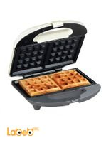 Waffle Maker Iron Machine 750W 2 slice Cool-touch handle