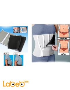 Adjustable Slimming Belt - 5 Zippers Wrap - Flexible comfortable