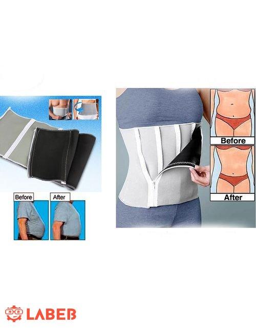 حزام تنحيف الجسم القابل للتعديل ودعم الظهر مرن ومريح