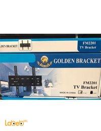 حاملة شاشة Golden ثابتة حجم 17-42 انش لون أسود FM2201