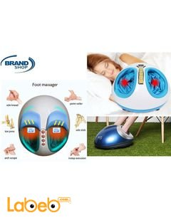 Shiatsu Foot Massager - with Heat and Timer - 3D massage