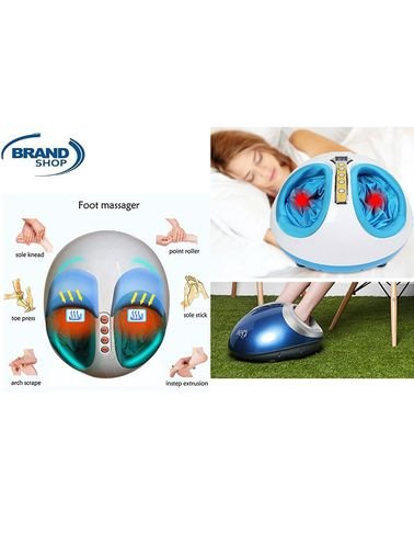 Shiatsu Foot Massager with Heat and Timer 3D massage