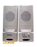 سماعات انتيكس لتشغيل الكمبيوتر - 2*2 واط - فضي - IT-320