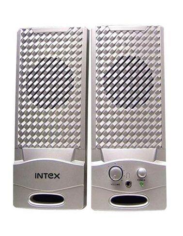 سماعات انتيكس لتشغيل الكمبيوتر 2*2 واط فضي IT-320