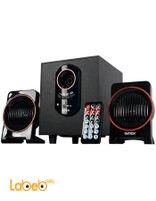 سماعات انتيكس لتشغيل الكمبيوتر 15+5*2 واط أسود IT-1600U