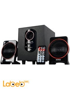 Intex computer multimedia speaker - 15+5x2W - Black - IT-1600U