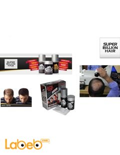 Super Billion Hair - used for filling the bald or thin areas