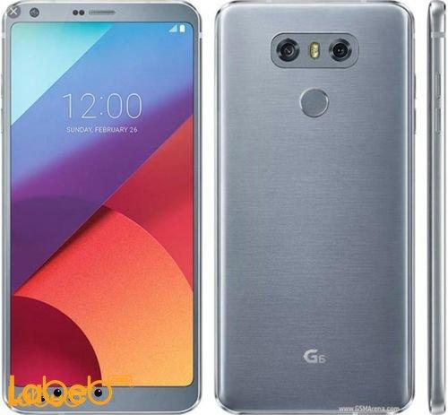 موبايل LG G6 ذاكرة 32 جيجابايت 5.7 انش لون فضي