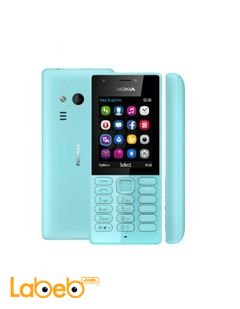 Nokia 216 Dual sim mobile - 16MB RAM - 2.4inch - Blue color