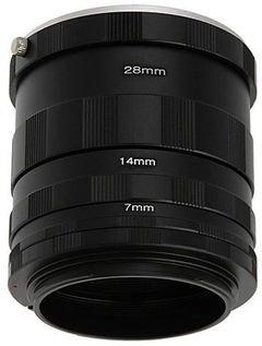 مجموعة عدسات تصوير الماكرو لكاميرات كانون EOS للتصوير عن قرب.يمكن تركي
