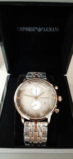 ساعة امبوريو أرماني فاخرة بتصميم عالمي جَـــديـد