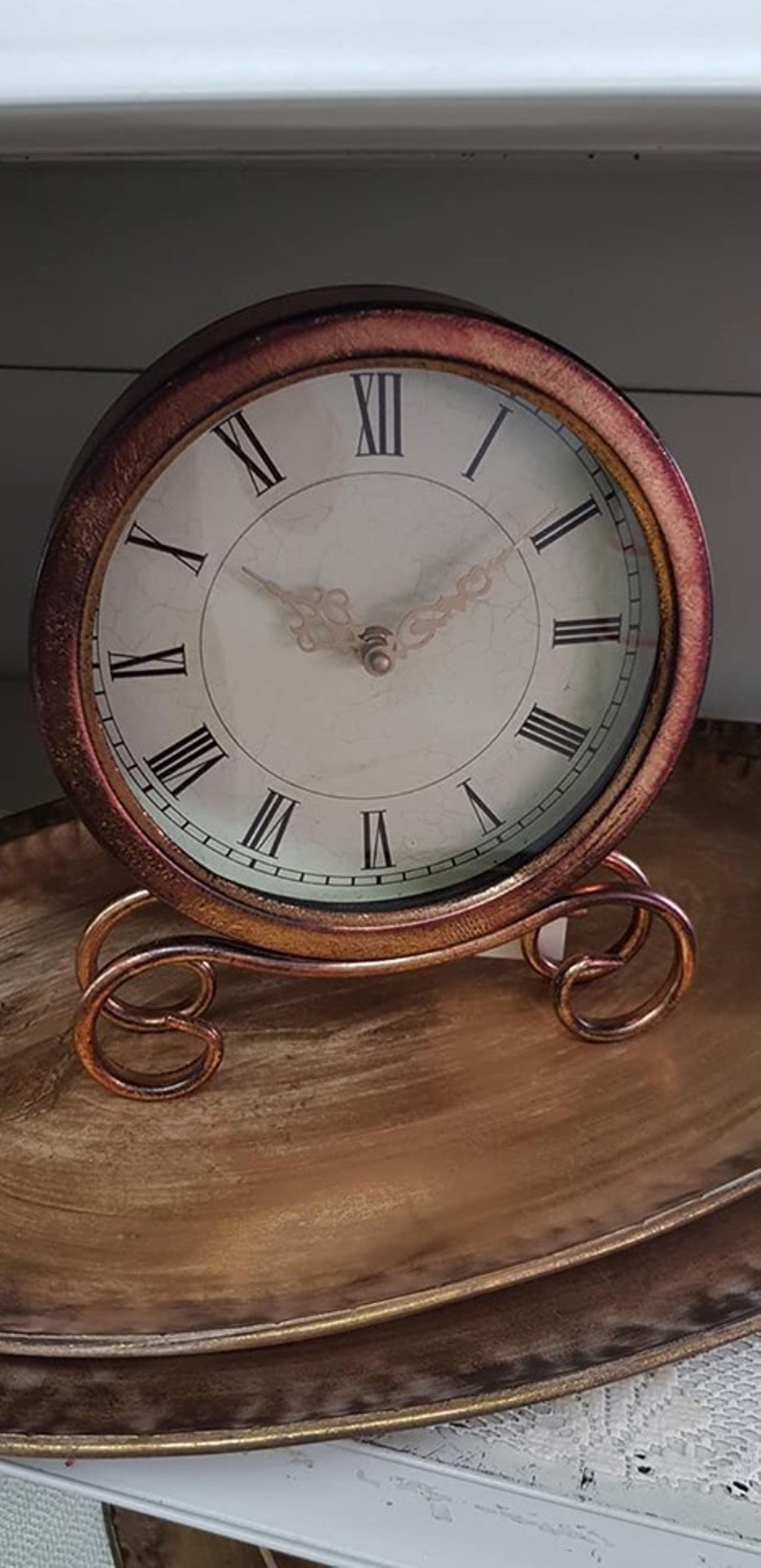 ساعة نحاسية بارجل