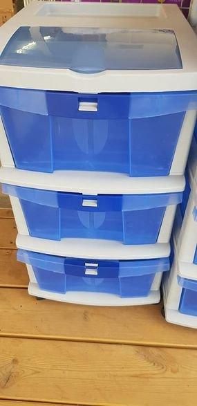 وحدة صناديق بلاستيكية  ( جوارير )