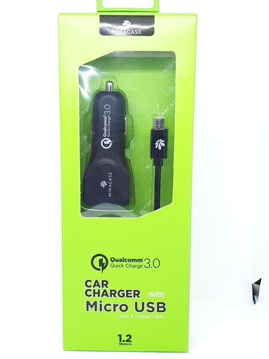 MIRACASE CAR CHARGER מטען רכב