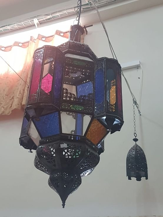 מנורה תליה מרוקאית