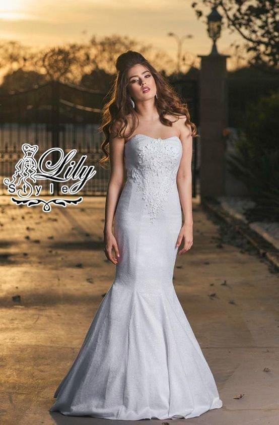 فستان زفاف سمكة