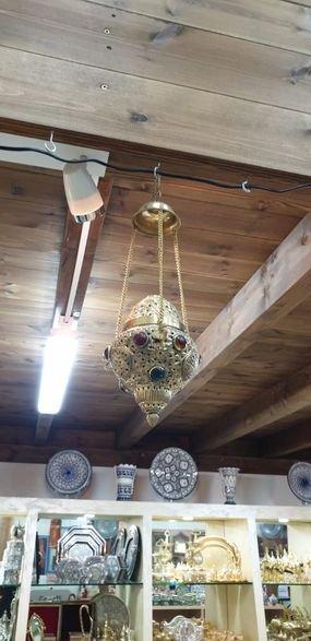 מנורה נחושת