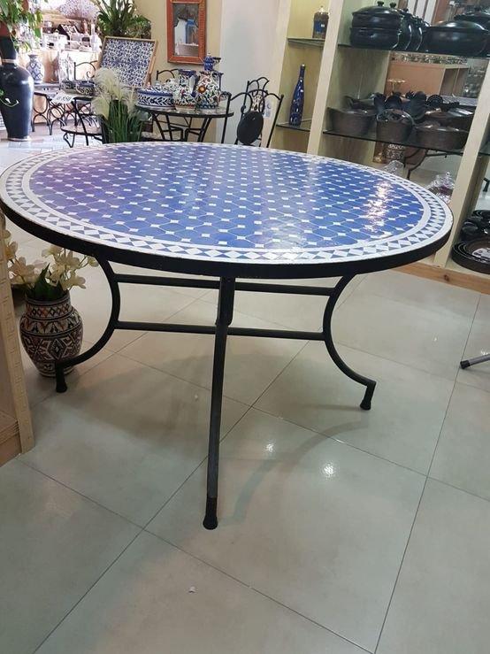 שולחן פסיפס מרוקאי