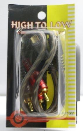 זוג מפצלים RCA לרכב זכר לשתי נקבות SPARTEC