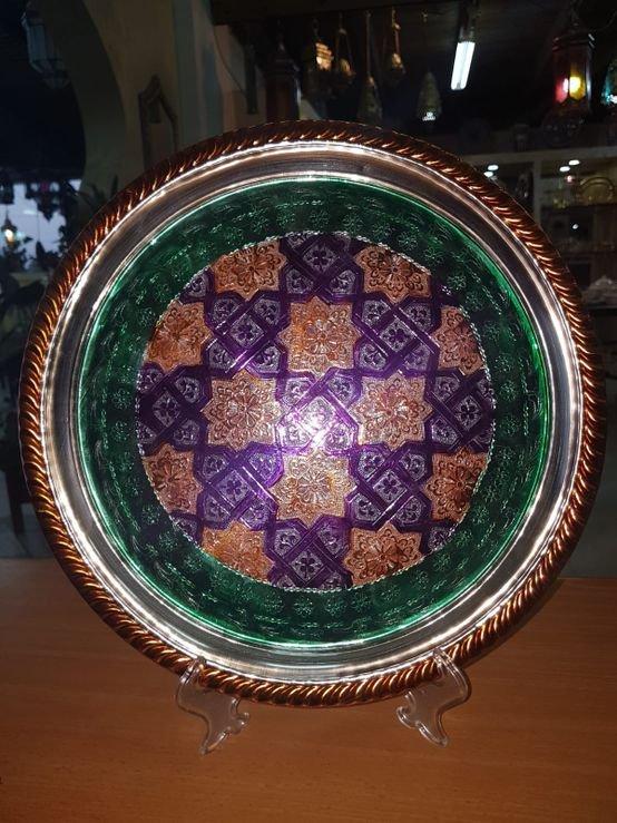 מגש צבעוני מרוקאי